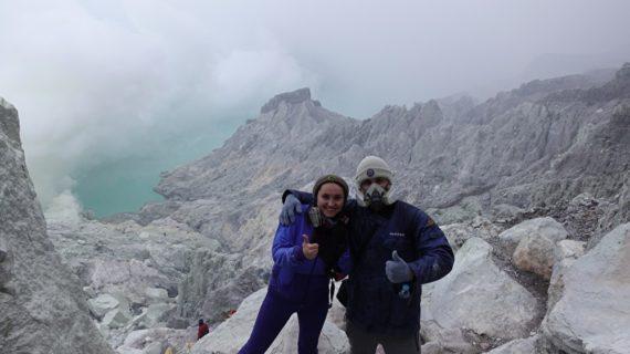 Подьем на вулкан Иджен